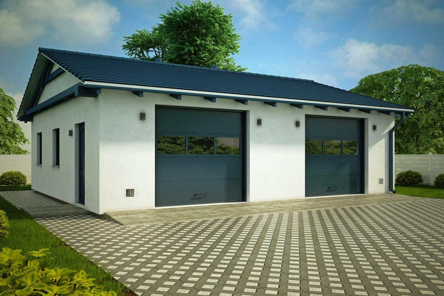 Строительство гаражей под ключ в Кургане